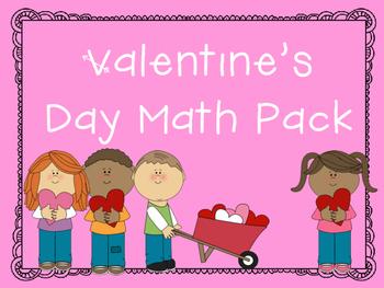 Valentine's Math Worksheets