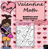 Valentine's Math Packet (Primary)