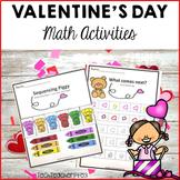 Valentine's Day Math Center Activities