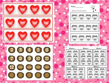 Valentine's Math and Literacy