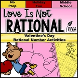 Valentines Day Math for Middle School