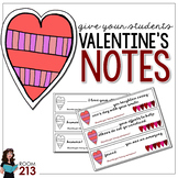 Valentine's Messages for your Students
