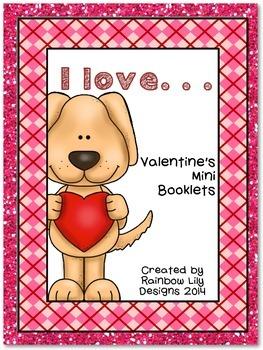 Valentine's Mini Booklets - I love...
