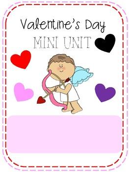 Valentines Mini Unit (No Prep)
