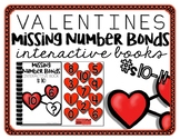 Valentines Missing Number Bond Interactive Books