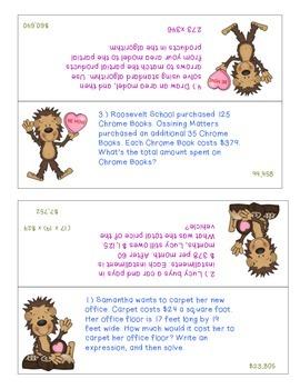 Valentine's Monkey Multiplication