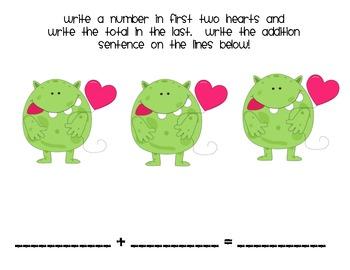 Valentines Monster Addition