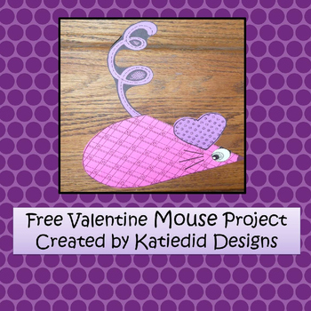 Valentine's Mouse Craft