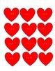 Valentine's Multiplication Bingo
