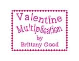 Valentine's Multiplication Cards #2