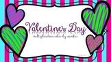 Valentine's Multiplication Color-by-Number
