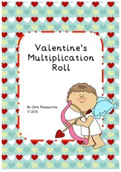 Valentine's Multiplication Roll