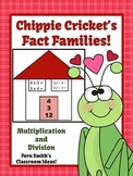 St Valentine's Day Multiply and Divide Fact Families Cente