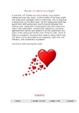 Valentines Murder Mystery - Problem Solving