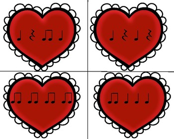 Valentines Music Activities, K-2nd