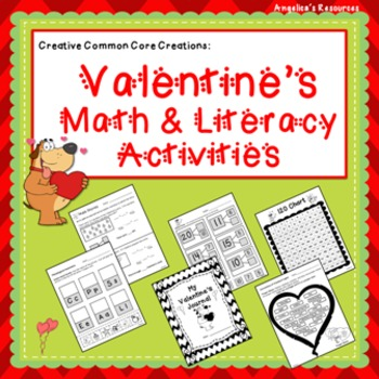 Valentine's Day Activities :Math and Literacy