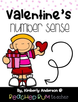 BUNDLE: Valentine's Number Sense Mental Math: Differentiated (9 Products)