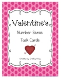 Valentine's Number Sense Task Cards