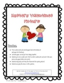 Valentines Numbergrid Activity