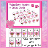 Valentines Numbers and Letters