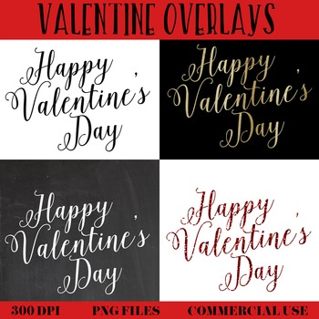 Valentine's Overlays, commercial use