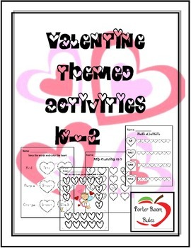 Valentines Package K-2