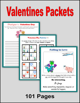 Valentine's Day Packets (101 Pages)