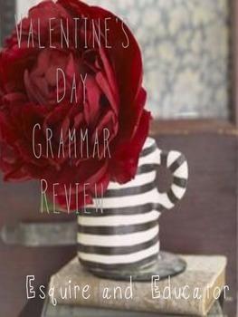 Valentine's Parts of Speech Grammar Review