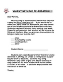 Valentine's Day Letter- English & Spanish *EDITABLE
