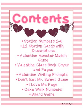 Valentines Party Stations