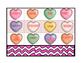 Valentine's Day Bingo with Conversation Hearts
