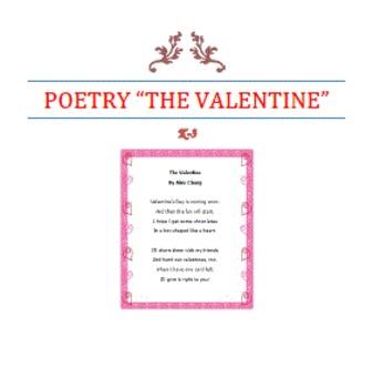 POETRY-The Valentine