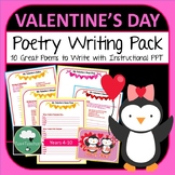 Valentines Day Poetry Writing Fun - 10 Poems to Write in Lower Secondary