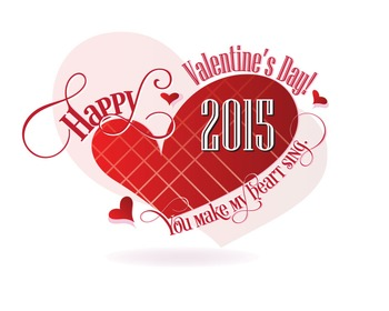 Valentine's Poster Art - Greeting Card Art- Online Greetings 2015