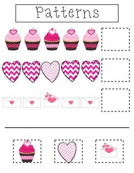 Valentine's Pre-K Activity Pack