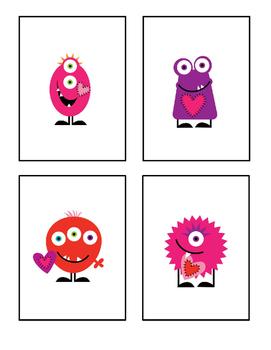 Valentines Preschool Packet - Math & Literacy Preschool Activities