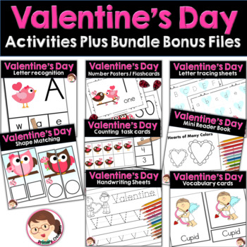 Valentine's Day Preschool and  PreK Activities