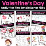 Valentine's Day Preschool and PreK Literacy and Maths Activities