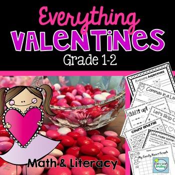 Valentines Day 2nd Grade ~ Valentines Day 1st Grade ~ Valentines Activities
