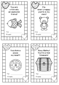 Printable Valentines for Your Class!