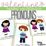 Valentines Personal and Possessive Pronouns