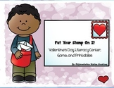 "Valentine's ""Put Your Stamp On It!"" Literacy Centers, Games, and Printables"