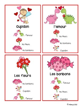 Valentine's Quatuors - French (3 sets)