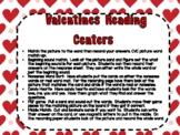 Valentines Reading Centers