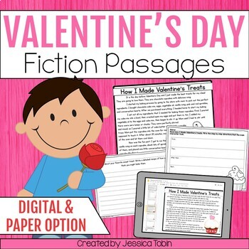 Valentine's Day Activities Reading Comprehension