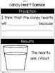 Valentines Reading, Math, and Science Activities
