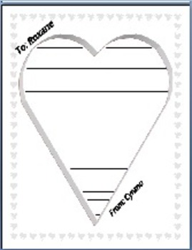 Valentine's Day Sonnet, Poetry Analysis, Narrative Writing