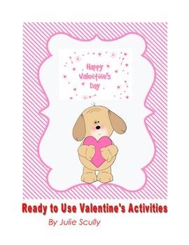 Valentine's Ready to Go Activities