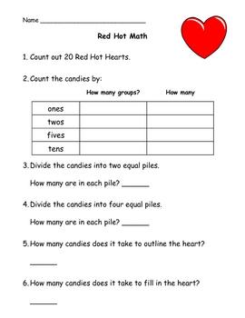 Valentine's Red Hot Math