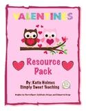 Valentine's Resources Pack